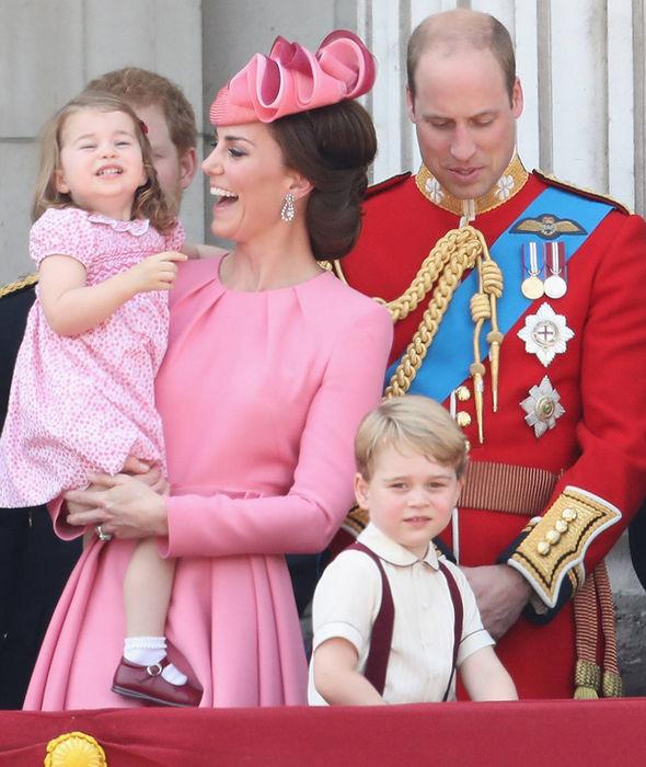 英国皇室令世界瞩目的一家四口