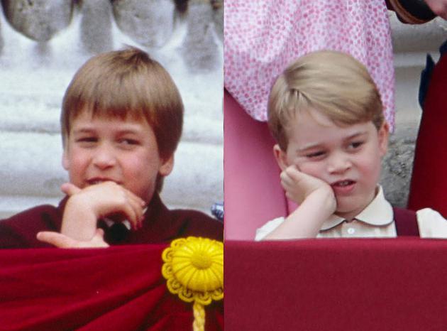 威廉王子VS乔治小王子